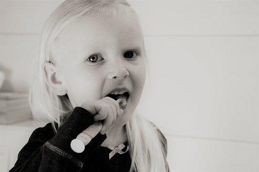 holčička hygiena zubní