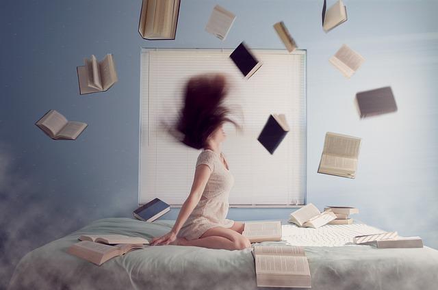 létající knihy
