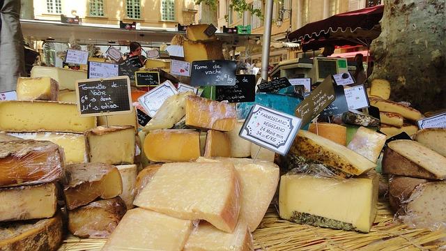 prodej sýrů