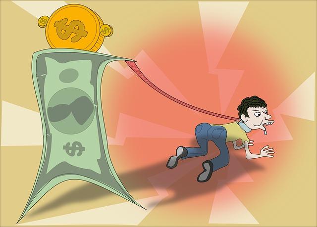 dluhy, peníze, člověk