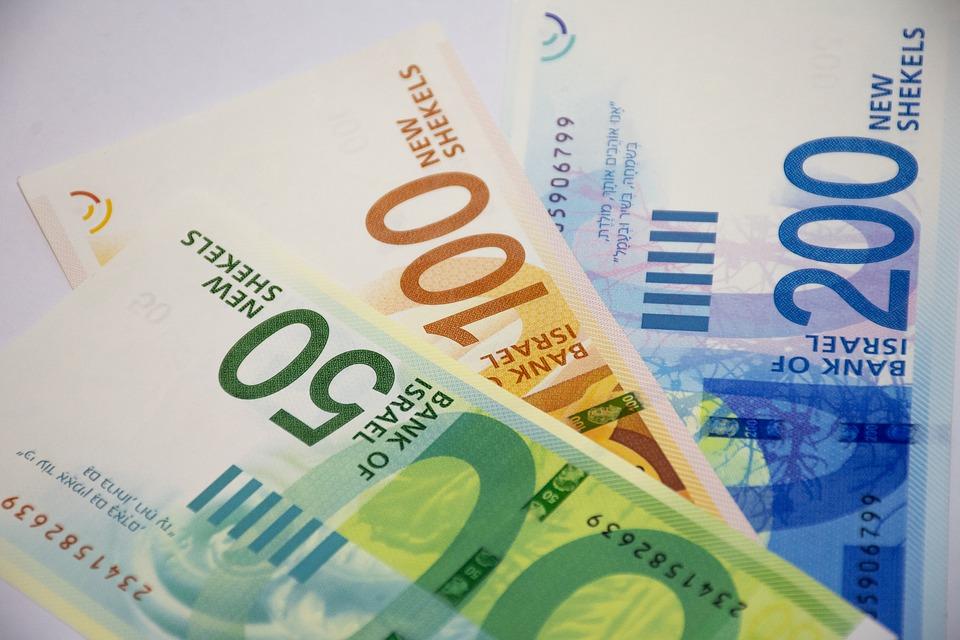 peníze Izraele